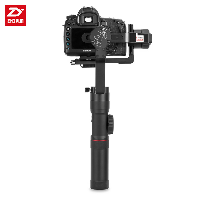 Zhiyun Crane  2 3-Axis Gyro Stabilizer Handheld Gimbal with Real Time Follow Focus Control 3.2KG for DSRL Camera zhiyun crane m crane m 3 axis brushless handle gimbal stabilizer for smartphone mirroless dslr gopro 125g 650g