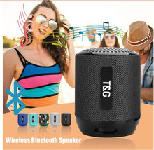 M&J TG129 Bluetooth Speaker Wireless Bass Call Outdoor Portable Card Fashion Gift Mini Stereo Built-in Mic