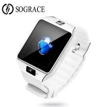 Relogio Intelligens 2017 Smart Sport Watch karóra Cell Phone Android Wear fehér ébresztőóra Smart Wristband Vízálló ember