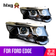 Hlxg Assembly For Ford Edge   Led Headlight Drl H Hid Bi Xenon Beam
