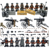 WW2 Action Figures With Many Weapons And Guns SWAT Military Army Soldiers Building Blocks Set Educational