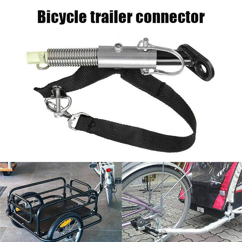 High Quality Universal Bike Trailer Bike Trailer Hitch Baby Pet Hitch Linker Connector Bicycle Rear Rack Accessories 19ing