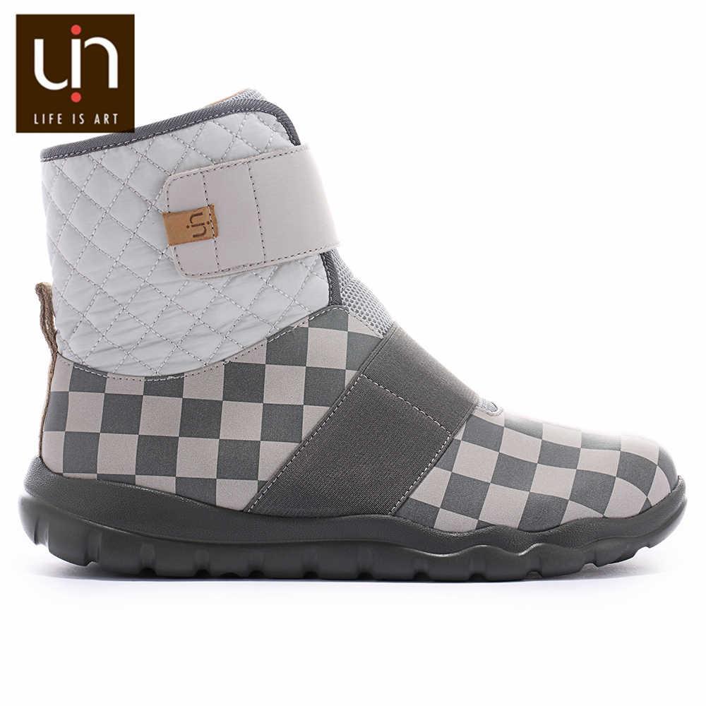 UIN Halifax Series Ấm Mùa Thu/Mùa Đông Giày Nữ Microfiber Giày Da Lộn Nữ Mắt Cá Chân Giày Cho Thể Thao Ngoài Trời Nhẹ