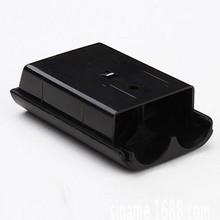 China Black AA Battery Pack Case Cowl Holder Shell For Xbox 360 Wi-fi Controller With Facory Value