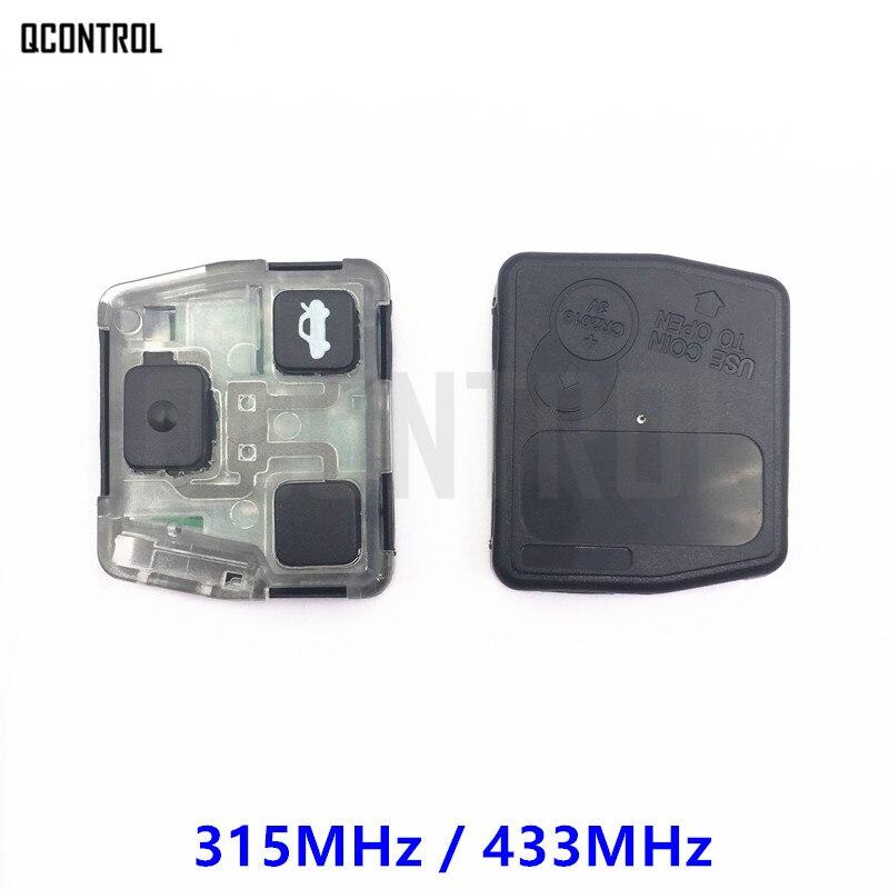 Qcontrol автомобиля удаленный ключевой Внутренняя core сборки для Toyota Camry Prado Corolla частота 315 мГц или 433 мГц передатчик core
