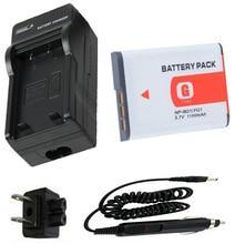 Батарея + Зарядное Устройство Для SONY Cyber-shot DSC-W30, DSC-W35, DSC-W50, DSC-W55, DSC-W70, DSC-W80, DSC-W90, DSC-W100, DSC-W120 Цифровой Камеры