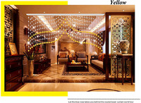 Free Shipping 2013 New Fashion Beaded Door Curtains Curtain Made To Measure Size 0 8m Drop