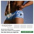 2016 Envío Libre masculinos los troncos de nuevo traje de baño sexy flores blancas (AU03)