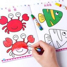 Nowy 12 sztuk/zestaw dzieci dzieci śliczne ludzik szkicownik dla dzieci kolorowanki łatwe do opanowania szkicownik libros