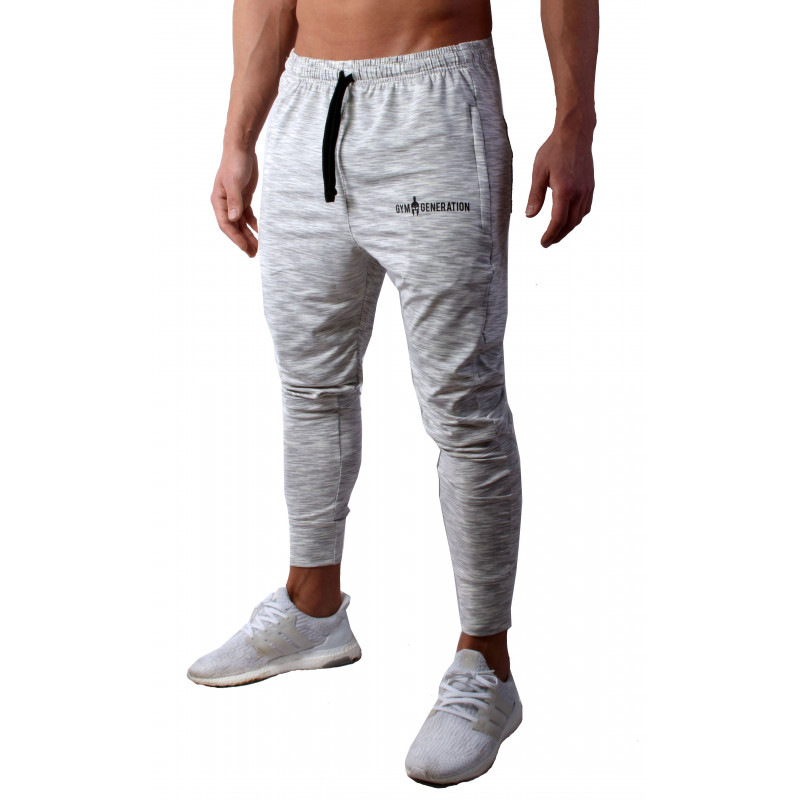 2019 New Gyms Mens Joggers Pants Fitness Casual Trousers Fashion Bodybuilding Brand Joggers Sweatpants Men Pants Cotton in Sweatpants from Men 39 s Clothing