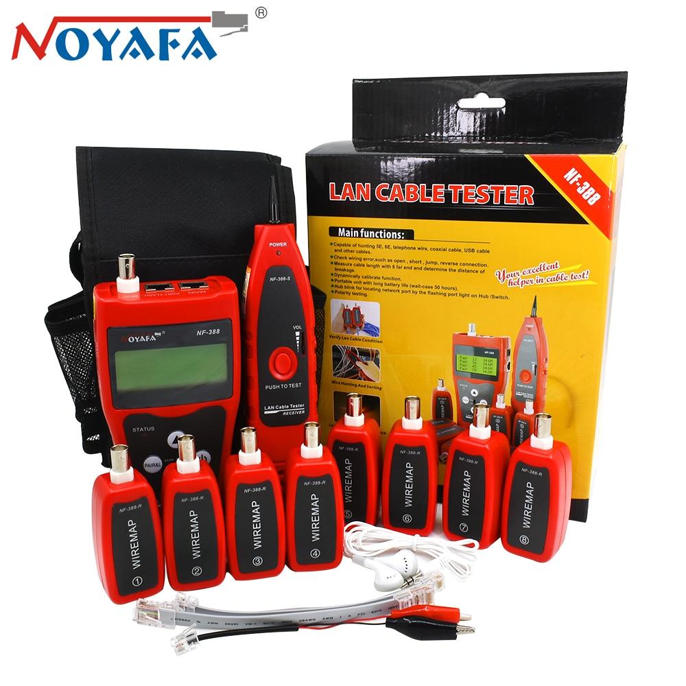 Original Noyafa NF 388 Cat5 Cat6 RJ45 UTP STP Line Finder Telephone Wire Tracker Diagnose Tone