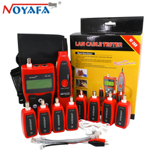 Original Noyafa NF-388 Cat5 Cat6 RJ45 UTP STP Line Finder Telephone Wire Tracker Diagnose Tone Tool Kit LAN Network Cable Tester original stp sep card