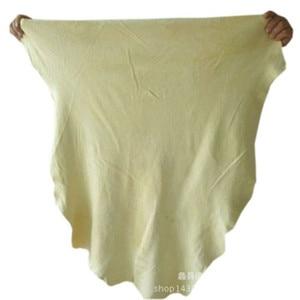 Image 5 - 60*90cm toalhas de lavagem de carro couro camurça natural pano de limpeza de carro super absorvente rápida toalha seca para carros móveis de casa