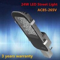 Freies verschiffen AC85 265V 24 Watt LED straßenlampen 3 jahre garantie hohe qualität 24*1 Watt LED STRAßENLEUCHTE-in Straßenbeleuchtung aus Licht & Beleuchtung bei