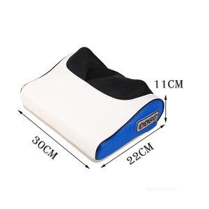 Image 5 - Многофункциональная Массажная подушка электрическая инфракрасная нагревательная разминание шеи массажер для тела Подушка для домашнего использования шейного позвонка