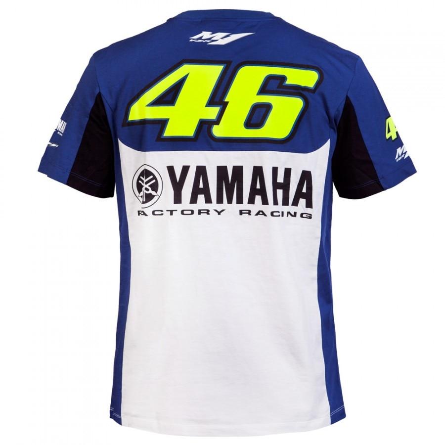 ba5a4a5be4c4 Valentino Rossi VR46 FOR Yamaha T-shirt M1 Factory Racing Team Moto GP T  shirt
