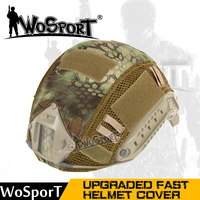 WoSporT Tactical Fast Helmet Cover Hunting Airsoft Paintball Cloth MH PJ BJ Style Accessory For Military