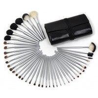 40 Pcs Pro Goat Hair Makeup Brushes Pincel Maquiagem Eyeliner Foundation Make Up Brush Cosmetic Tools