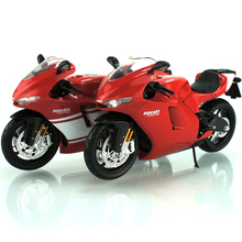1:12 Ducati Motorcycle Model Toy, Diecast & ABS Desmosedici RR GP Motorbike, Mini Motor Car Toys For Children, Brinquredos Gift