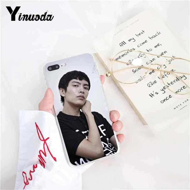 Yinuoda الكورية idol لي MINKI لينة سيليكون جراب هاتف ل iPhoneX XS ماكس 6 6S 7 7 زائد 8 8 زائد 5 5S XR 10 11 11pro 11 بروماكس حالة