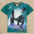 2015 Boys 3D Dinosaur Shirts Kids Cotton Short Sleeve O-neck Children Tees for Boys Clothes Cool Tops Summer Style Clothing TA34