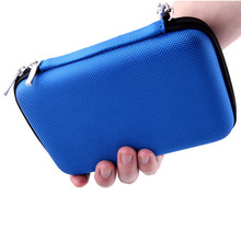 Zipper case bag protector for 2.5″ hard disk drive power back case iphone 6 case flash disk protect bag GH1303