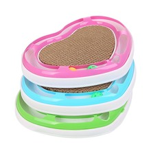 Funny Cat Grab Plate Interactive Toy Pet Heart Shaped Toys with Catnip Bell Balls Catnip Toys-in Cat Toys from Home & Garden on Aliexpress.com | Alibaba Group