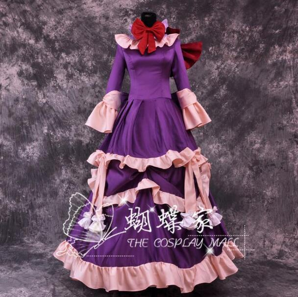 Pandora Hearts Cosplay Sharon Reinzuwasu Party Dress Cosplay Costume