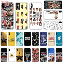 Lavaza The Office Funny Humor Hard Phone Case for Apple iPhone 6 6s 7 8 Plus X 5 5S SE for iPhone XS Max XR Cover