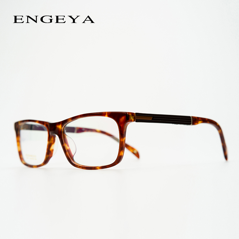 Acetate Prescription Glasses Men Classical Retro Optical Myopia Nerd Photochromic Progressive Spectacles #IP6701 acetate prescription glasses frame men oliver full round spectacles fors women peoples optical nerd myopia wood grain eyeglasses