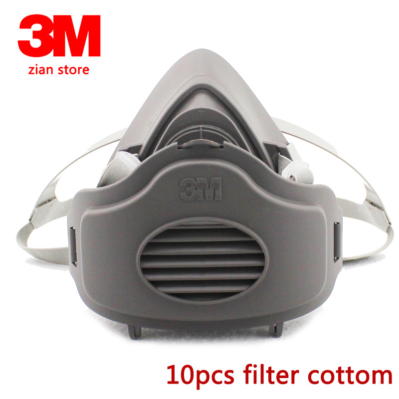 3M 3200 10PC+3701 dust Mask Respirator Safety Protective Mask Filter cotton Anti Dust Smoke 10pcs filter cotton mining carpentry3M 3200 10PC+3701 dust Mask Respirator Safety Protective Mask Filter cotton Anti Dust Smoke 10pcs filter cotton mining carpentry