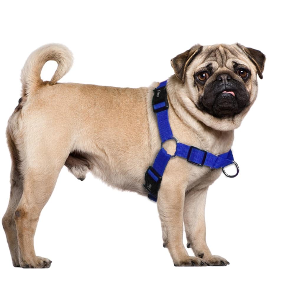 No Pull Nylon Dog Harness Justerbare Pet Dog Harnesses Vest Til - Pet produkter - Foto 4