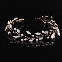 Summer New Style Best Deal Is Pure And Fresh Temperament Gorgeous Bride Pearl Headdress Flower Headdress