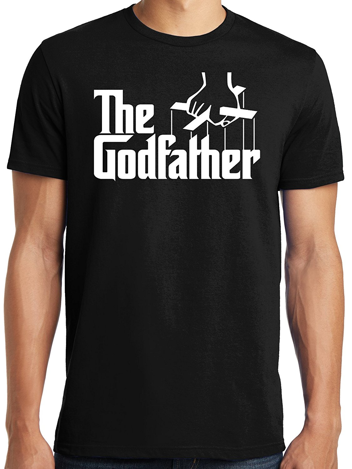PubliciTeeZ The Godfather Italian Mob Men's T-Shirt Big and Tall Sizes Available T Shirts Casual Brand Clothing Cotton