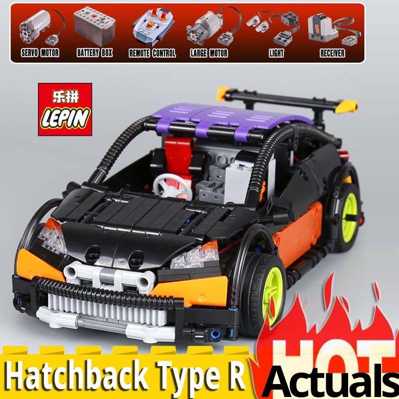 2018 Lepin Technic Series 20053 The Hatchback Type R Model Set MOC-6604 Building Blocks Bricks toys for children Christmas gifts