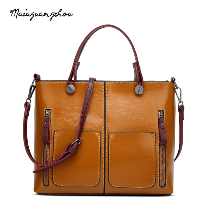 Maia Fashion Brief Women Bags  2017 Vintage European And American Style New Arrival Shoulder Bags Female Famous Brand Crossbody