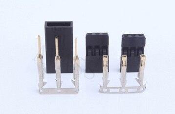 10pcs AmassJR Plug Servo Plug Terminal Plating True Gold (10 sets of male head female head terminal)