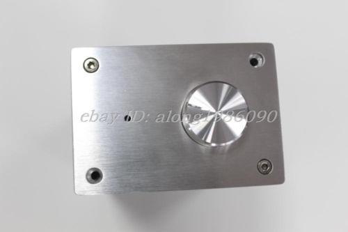 A-0609 full aluminum black power amplifier enclosure mini Vertical chassis