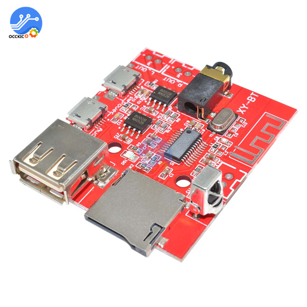 USB MP3 Bluetooth Decoder Board Audio Spectrum Analyzer Amplifier Board TF Card Bluetooth 4.1 Wireless DAC With Remote Control
