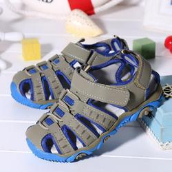 Muqgew crianças meninas meninos 1 a 9 anos de idade roman respirável esporte correndo ao ar livre sandálias praia sapatos verão # xtn
