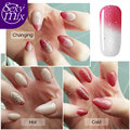SexyMix Temperature Color Changing Chameleon Nail Gel Polish Soak-off Color Gel Nail LED UV Cured 7ML NEW Color Nail Gel Polish