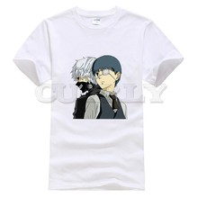 2019 new T-shirt Short sleeve  Tokyo Ghoul Leisure Japan Anime Cartoon comics Summer dress men tee Funny t shirt custom made