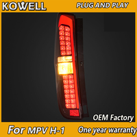 KOWELL Car Styling for Hyundai MPV H 1 Wagon taillights 2011 2012 2013 2014 Starex H1 Tail Light Drl+signal+brake+reverse