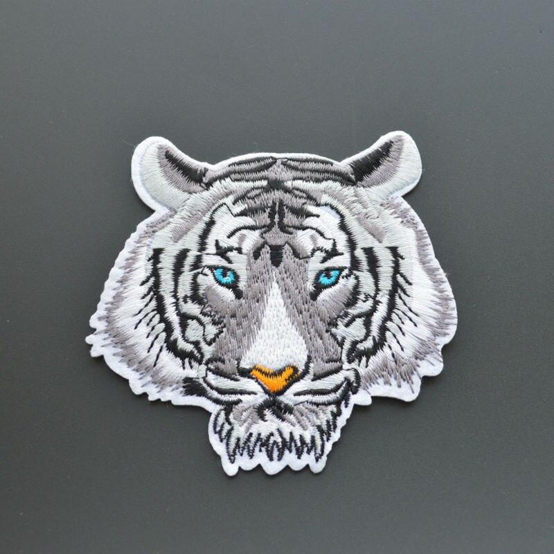 malé velkoobchodní náplasti 9cm * 9cm krásná tygří náplast na náplastech divokých zvířat náplasti 20 kusů