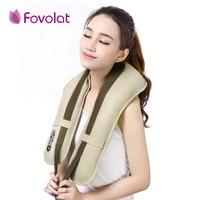 Hot Sale Neck Massager Portable Electric Knocks Cervical Massage U Shape Electrical Shiatsu Back Neck Shoulder Massager EU Plug