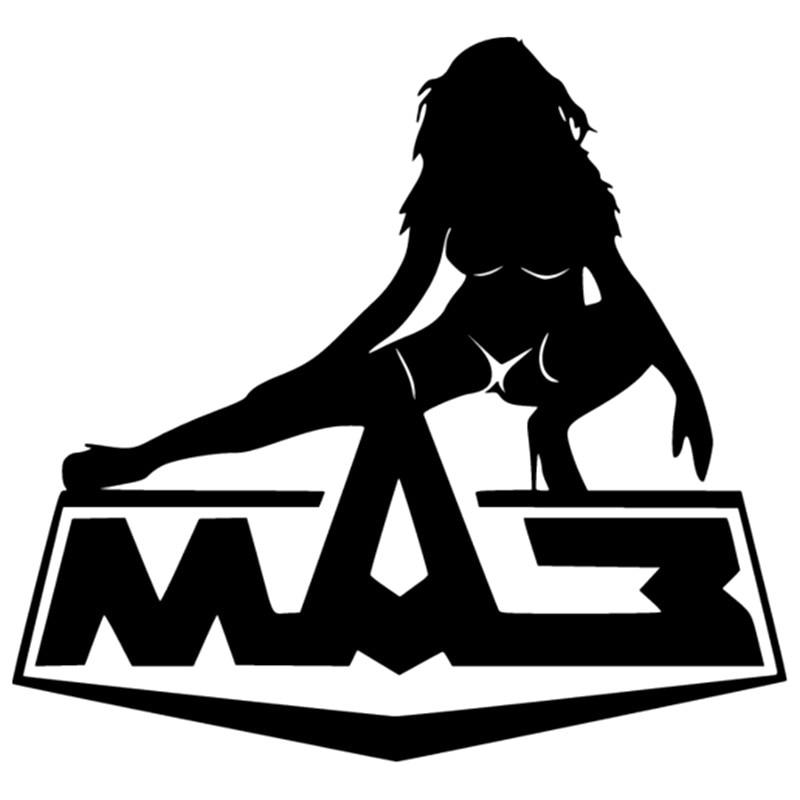 MAZ Girl sexy funny For Auto Car/Bumper/Window Vinyl Decal Sticker Decals DIY Decor CT3442