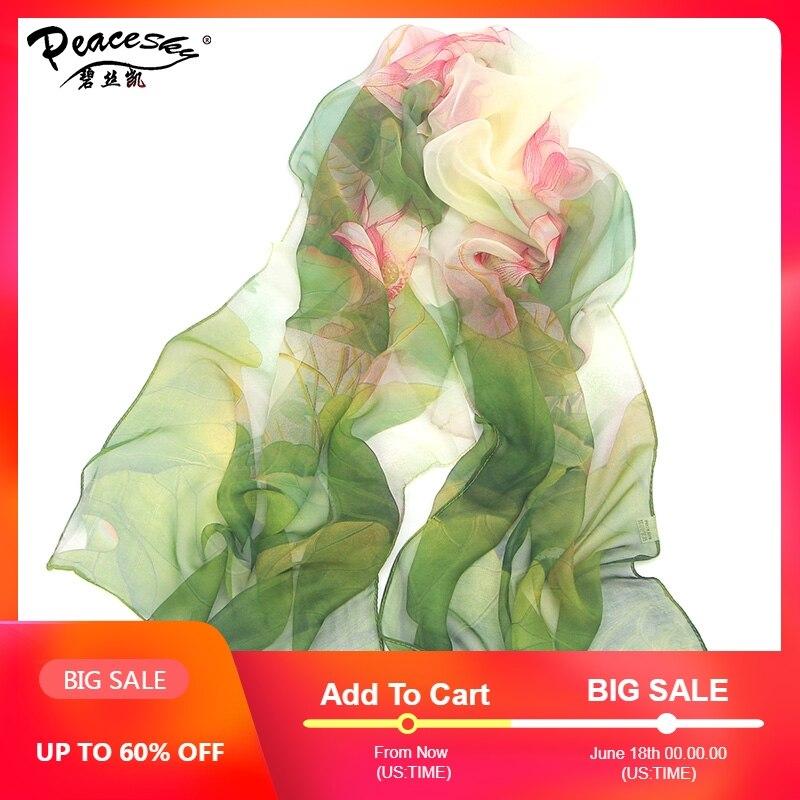 2017 hot wonderful flower long soft scarfs   wrap   shawl for elegant women han edition   scarf     scarves   shawls free shipping