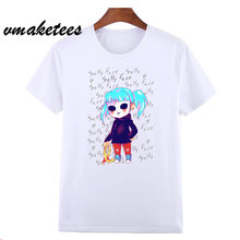 The New T-Shirts Sally Face Men/Women Summer Fashion T-Shirts Sally Face Hip Hop Short Fleeve Tops HCP4557(China)