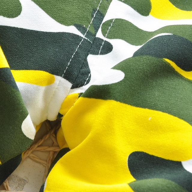 Lovely Newborn Baby Boy Camouflage Pants