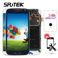 5 0 LCD For SAMSUNG Galaxy S4 LCD Display With Frame GT I9505 I9500 I9505 I9506